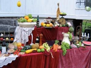 Frukt og vin